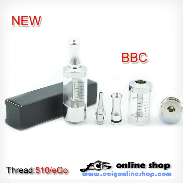 BBC Clearomizer with big capacity 3.5ml free shipping