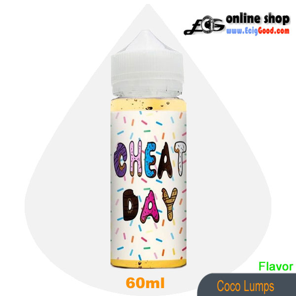 Cheat Day E-Juice vapor juice-Coco Lumps 60ml