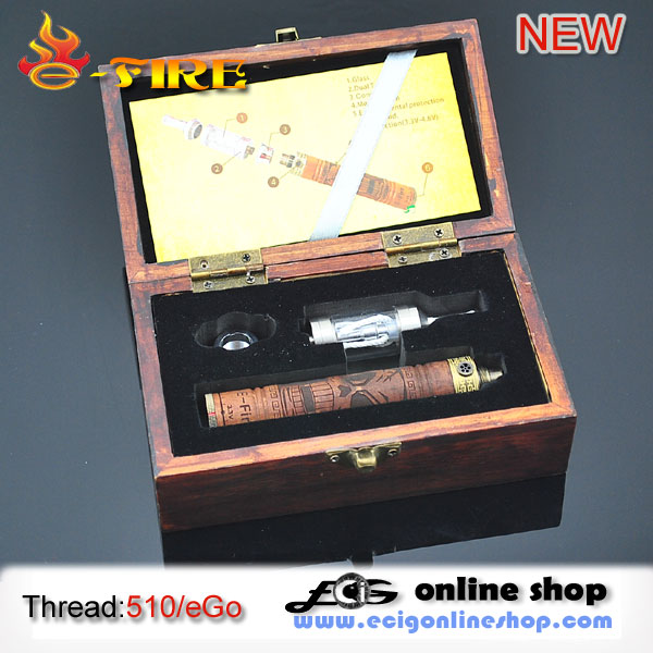 E cigarette E-FIRE wooden kits free shipping
