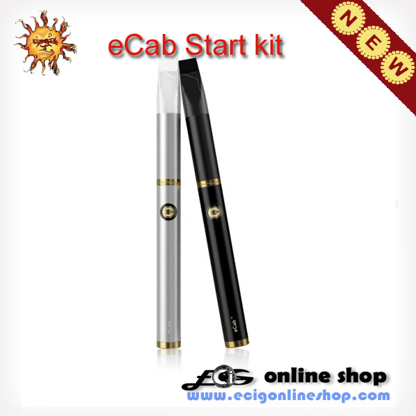 E cigarette eCab Starter kits with 360mAh Battery free shipping