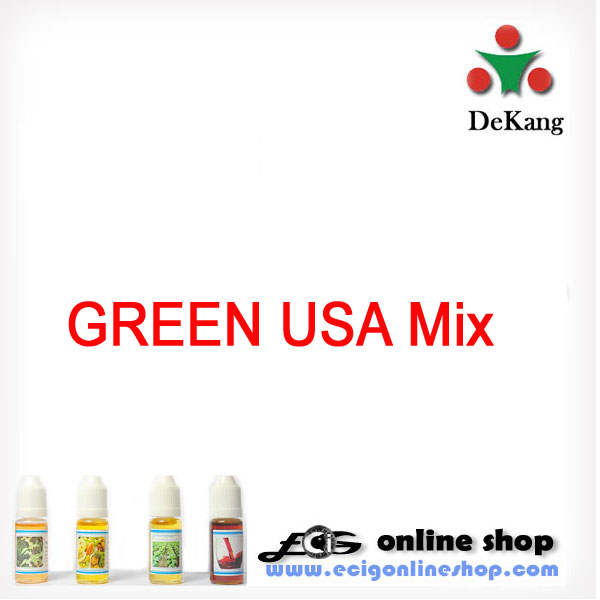 10ml Dekang e-LIQUID -LIGHT USA MIX(Green USA Mix)11mg