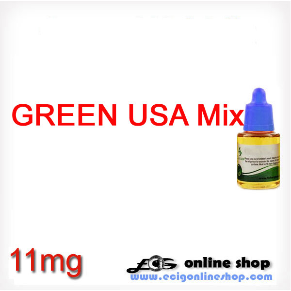 30ml HS e-juice,e-liquid-Green USA Mix(USA Mix Lights)11mg