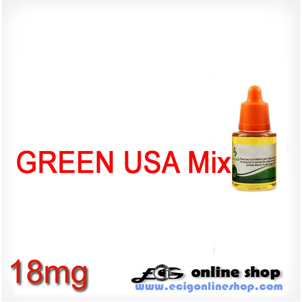 30ml HS e-juice,e-liquid-Green USA Mix(USA Mix Lights)18mg