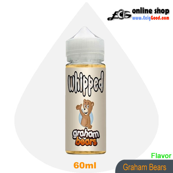 Whipped E-Juice ecig juice-Graham Bears 60ml