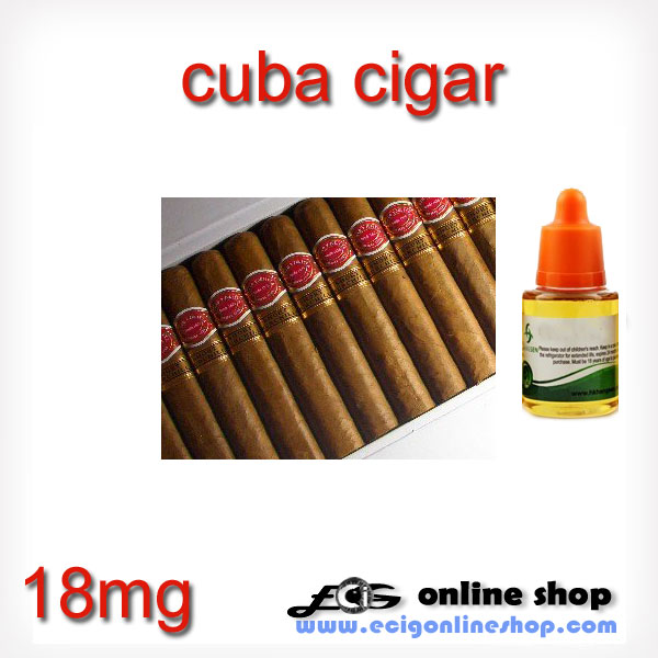 30ml HS e juice,e liquid-Cuba cigar(cubana) 18mg