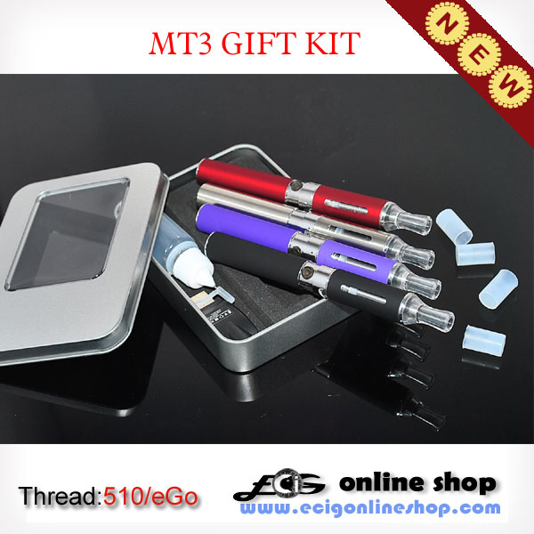 E-cigarette MT3 KIT whit eGo-w battery free shipping