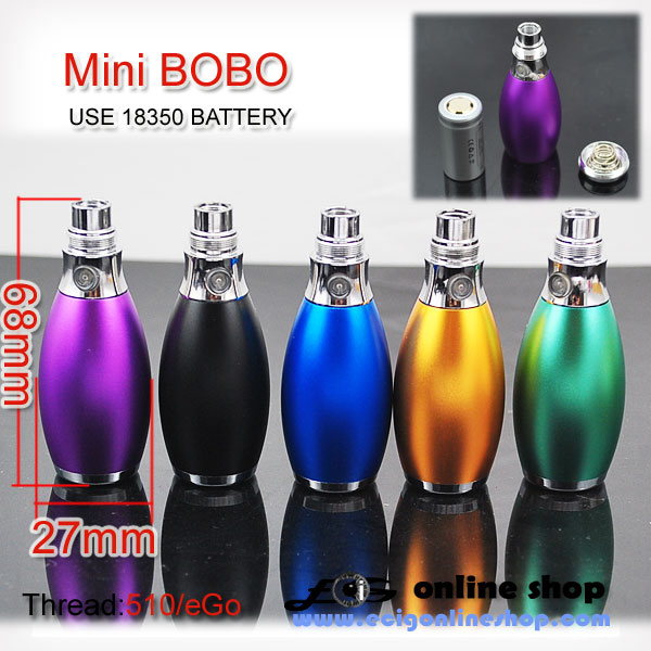 Mini BOBO wiht 18350 battery free shipping