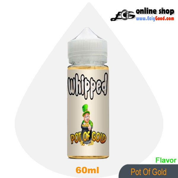Whipped E-Juice ecig juice-Pot Of Gold 60ml
