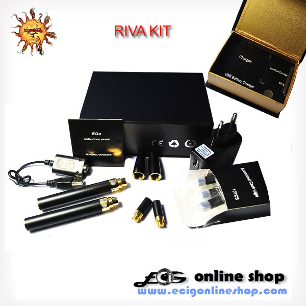 RIVA e-cigarette kit