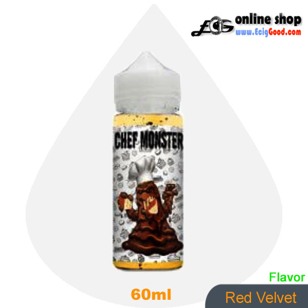 Chef Monster E-Juice vaper e-liquid-Red Velvet 60ml