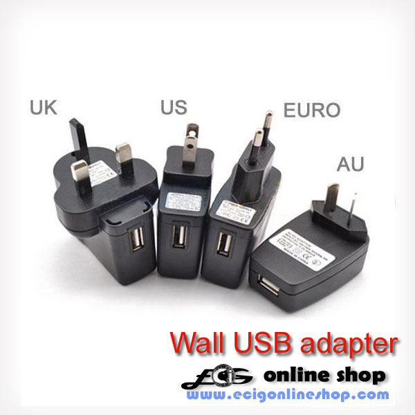Universal Wall USB adapter AU UK US plug