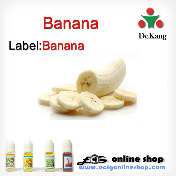 10ml Dekang e-juice,e-liquid-banana 0mg