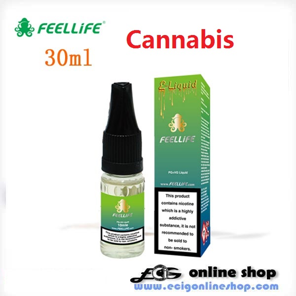 30ml FeelLife e-liquid-Cannabis 24mg