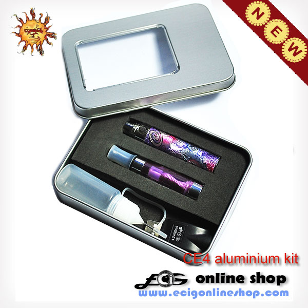 E cigarette CE4 GIFT KIT whit eGo-Q battery free shipping