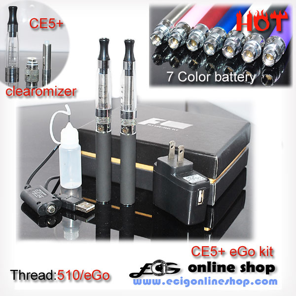 ego ce5+ kit for 7 colors battery free shipping