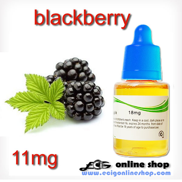 30ml HS e-liquid vapor flavor-Blackberry 11mg