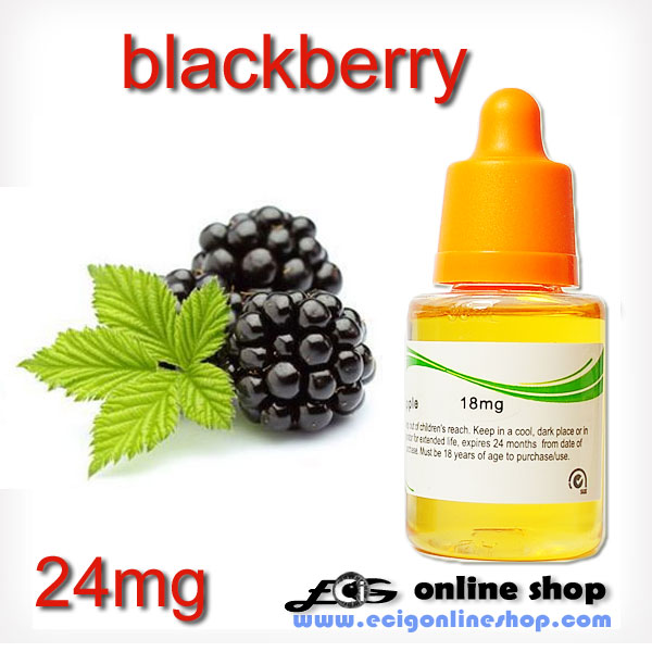 30ml HS E-liquid ecig juice-Blackberry 24mg