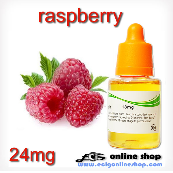 30ml HS E-liquid ecig juice-Raspberry 24mg