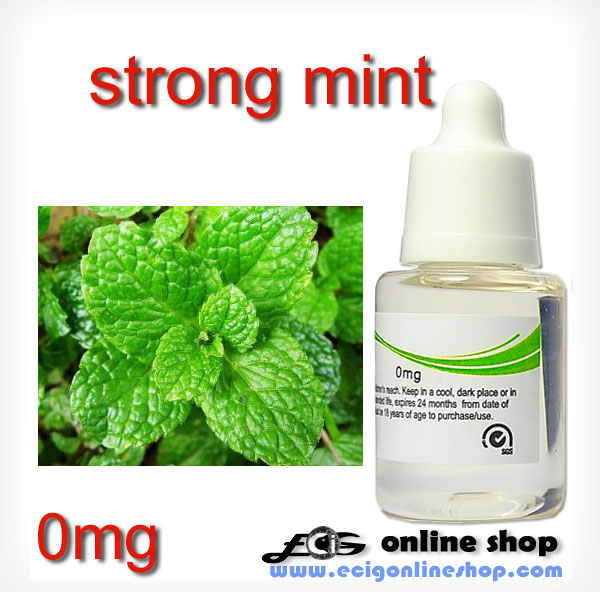 30ml HS E-cigarette liquid-strong mint 0mg