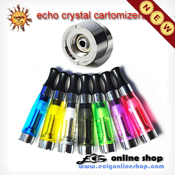 echo crystal cartomizers for 808 ECHO series battery x 5