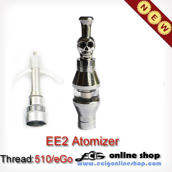 EE2 Clearomizer with stainless steel drip tip(detachable coil)