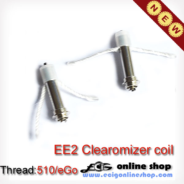 EE2 Clearomizer coil free shipping x 5