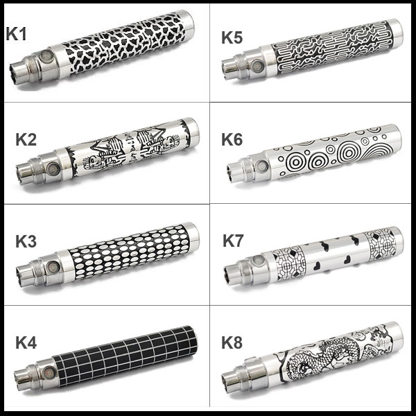 E Cigarette eGo K manual battery free shipping