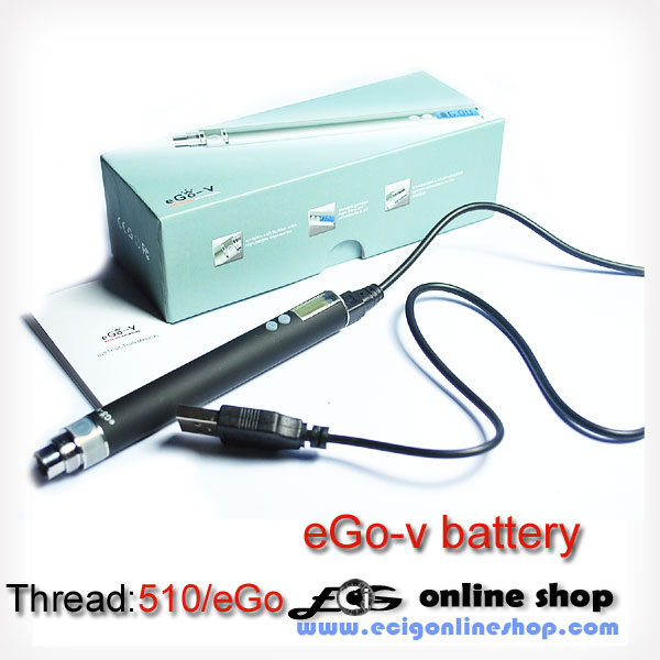 EGO-V Battery with LCD variable voltage 3.0-6.0V