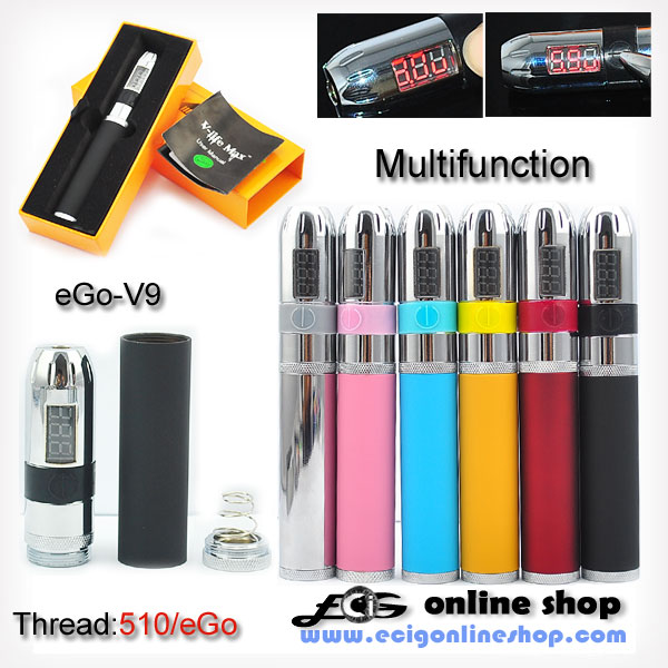 E cigarettee Go-V9 MOD only body free shipping