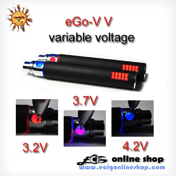 E Cigarette eGo-V V battery variable voltage free shipping