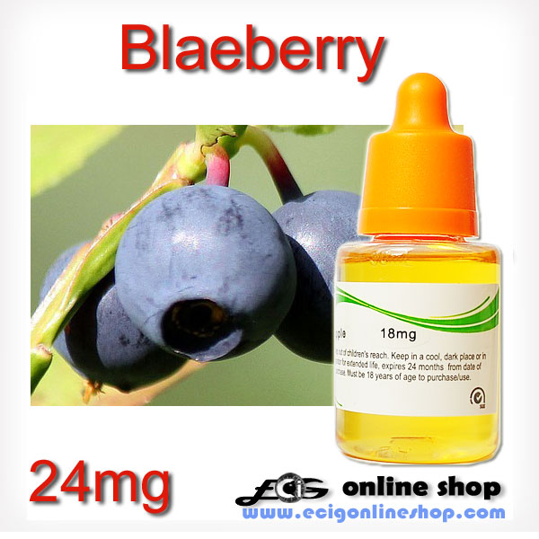 30ml HS E-liquid ecig juice-Blaeberry 24mg