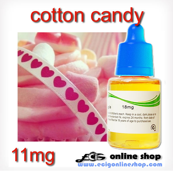 30ml HS e-liquid vapor flavor-Cotton candy 11mg