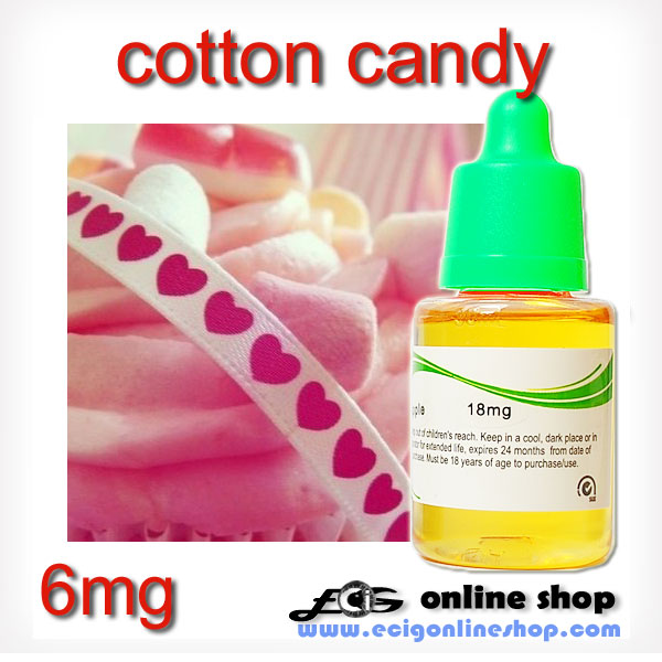 30ml HS e-liquid e-smoke flavor-Cotton candy 0mg