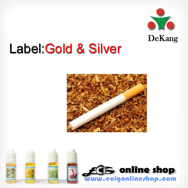 10ml Dekang e-juice,e-liquid-gold&silver 11mg