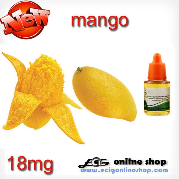 30ml HS e-juice,e-liquid-Mango 18mg