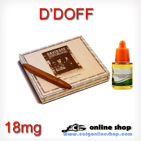 30ml HS e juice,e liquid-davidoff(D'DOFF/DE Tobacco) 18mg