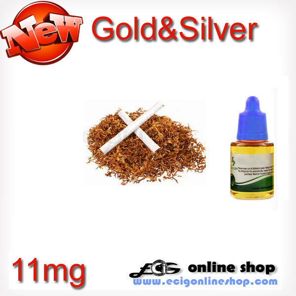 30ml HS e-juice,e-liquid-Gold&Sliver 11mg