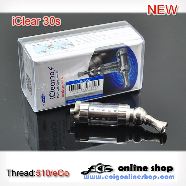 Innokin iClear30s clearomizer dual coil free shipping