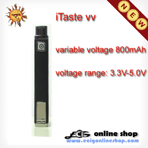 iTaste vv battery Variable voltage for 3.3V-5V free shipping