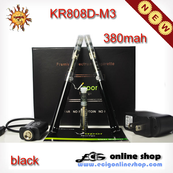 Ecigarette KR808D-M3 kit NEW 808 ecig-black color