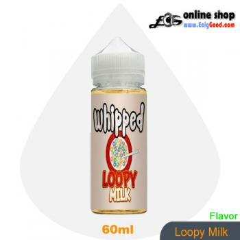 Whipped E-Juice ecig juice-Loopy Milk 60ml