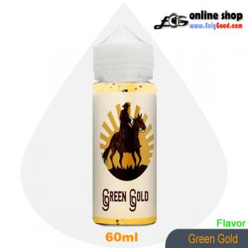 Ted Bacco E-Juice ecig juice-Green Gold 60ml