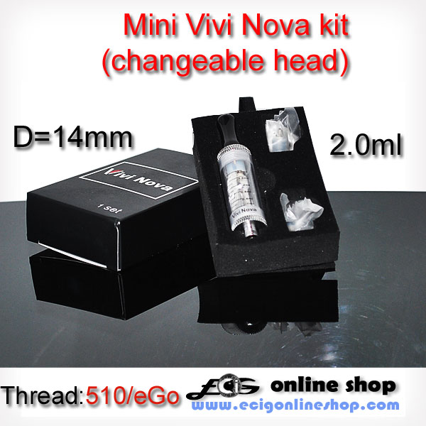 Mini Vivi Nova kit clearomizer (detachable coil)