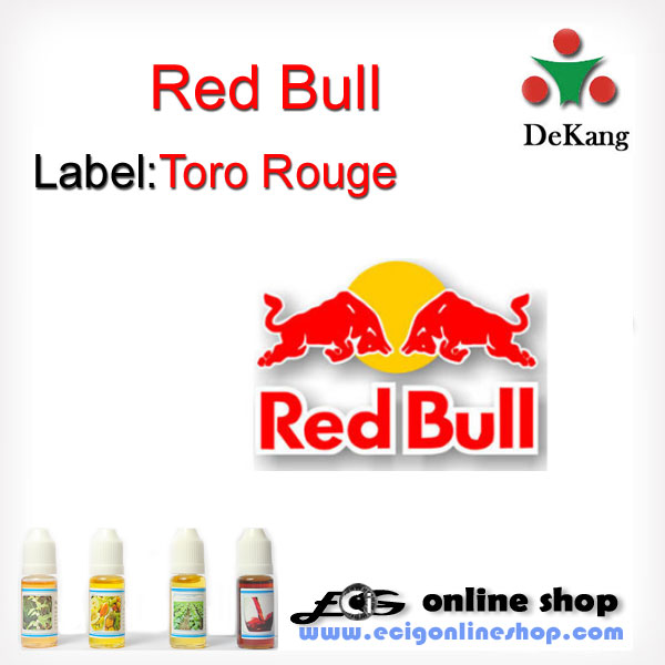 10ml Dekang e-juice,e-liquid-Red Bull(Toro Rouge) 18mg