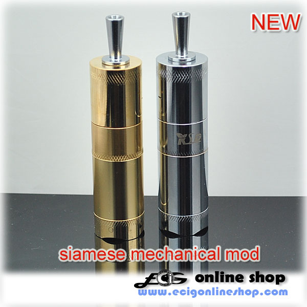 Ecig KSD Siamese mechanical mod FREE SHIPPING
