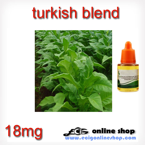30ml HS e juice,e liquid-turkish blend 18mg